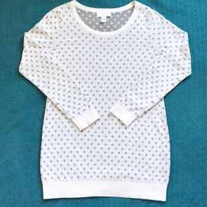 Maternity Polka Dot Sweater